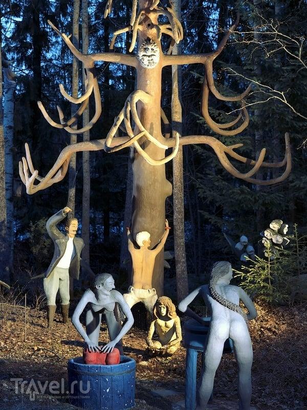 Парк скульптур Вейё Рёнккёнэна в Финляндии / Финляндия