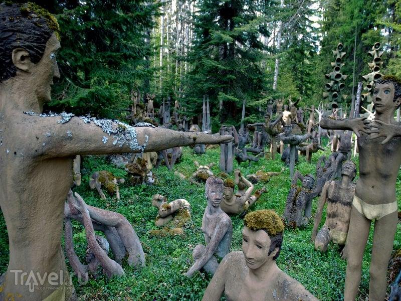 Парк скульптур - жутковатый музей под открытым небом, Финляндия / Финляндия