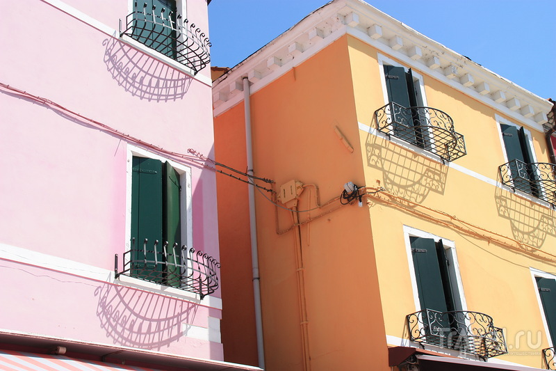 Радужный остров Бурано / Фото из Италии