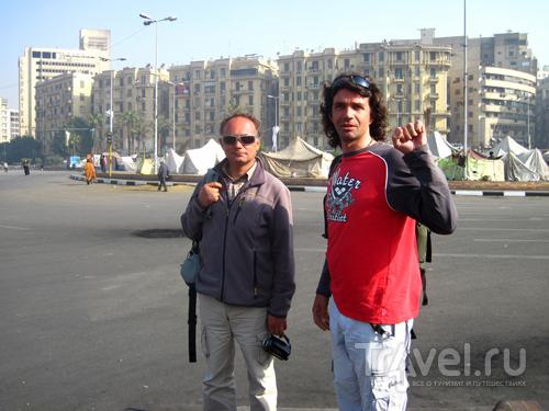 Любой иностранец, побывав на Тахрире, уже не поверит информации о беспорядках / Египет