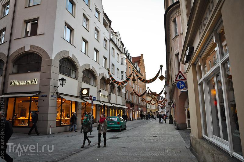 Баварская провинция город Регенсбург глазами столичного франта Морсы / Фото из Германии