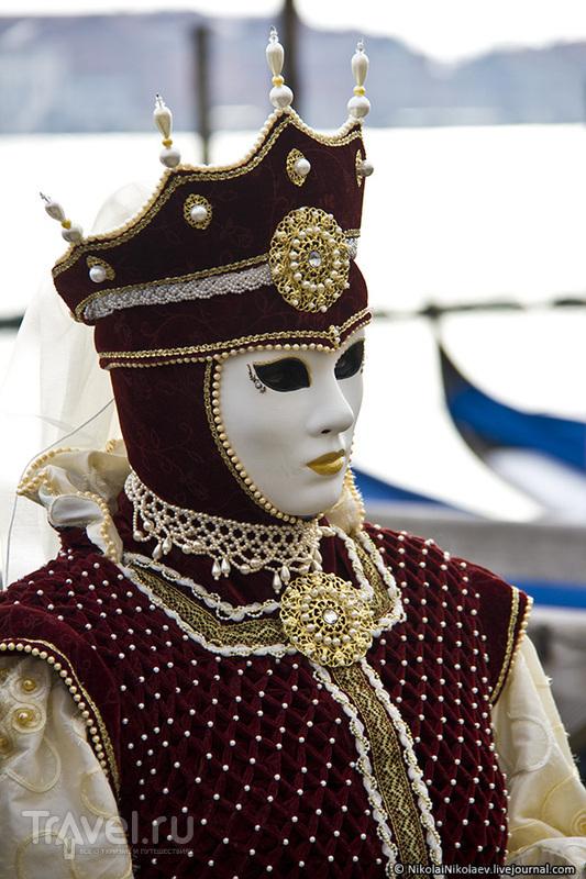 Сан-Марко в лицах... в масках / Фото из Италии