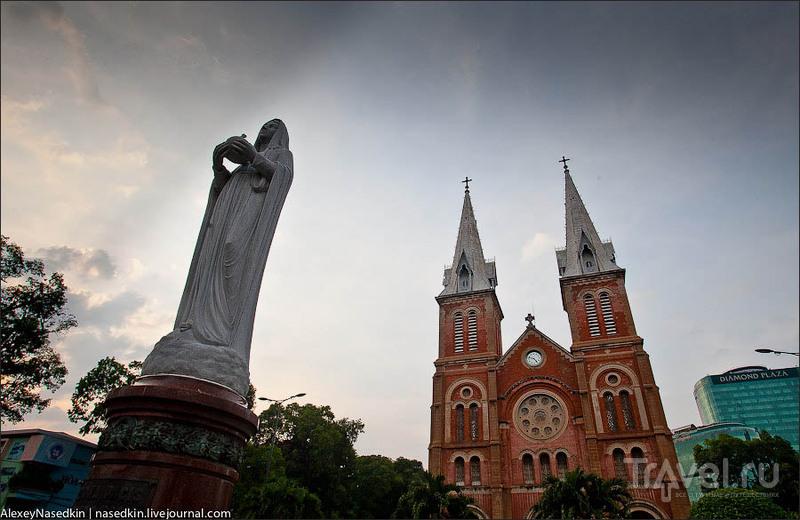 Нотр-Дам де Сайгон / Фото из Вьетнама