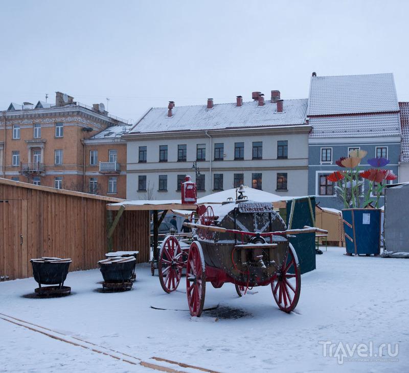 Вильнюс снежный и солнечный, ярмарка Казюкас / Фото из Литвы