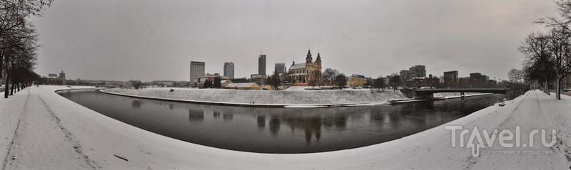 Набережная Нярис, Вильнюс / Фото из Литвы