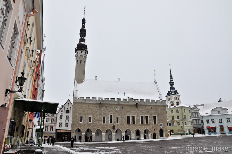 Таллинская ратуша / Фото из Эстонии