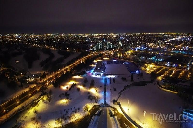 Олимпийский парк в Монреале, Канада / Фото из Канады