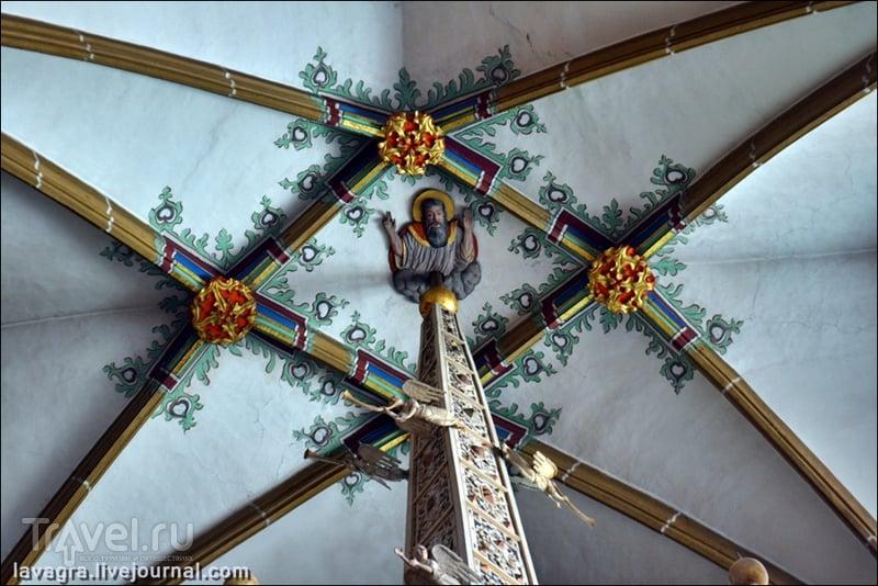 В Эрфуртском кафедральном соборе, Германия / Фото из Германии