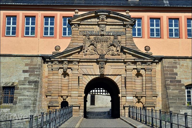 Цитадель Петерсберг в Эрфурте, Германия / Фото из Германии