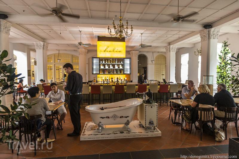 """В отеле """"Раффлз"""" в Сингапуре / Фото из Сингапура"""