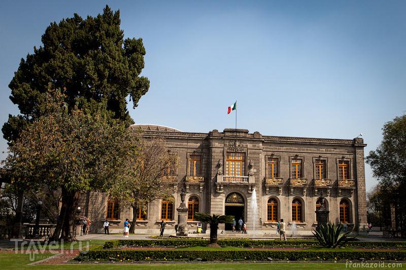 Замок Castillo de Chapultepec, Мехико / Фото из Мексики