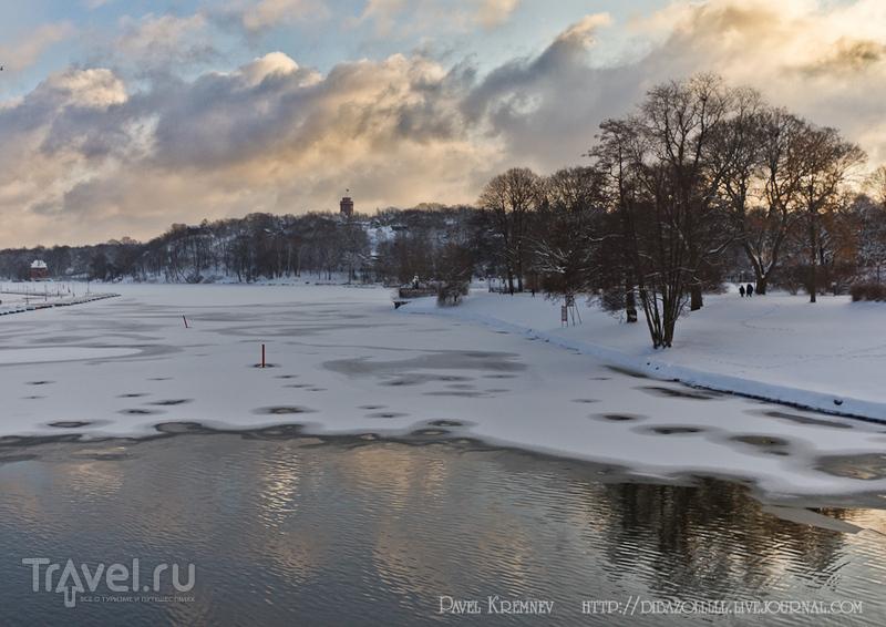 Остров Djurgården (Юргорден) в Стокгольме, Швеция / Фото из Швеции
