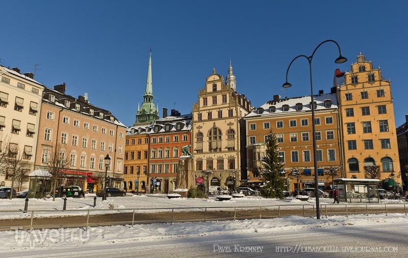 Gamla Stan (Старый город) в Стокгольме, Швеция / Фото из Швеции