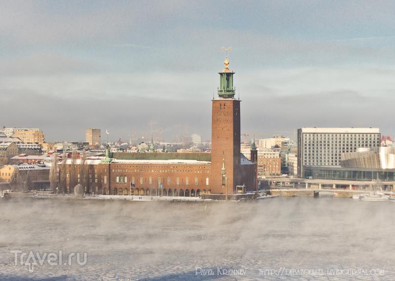 Городская ратуша в Стокгольме, Швеция / Фото из Швеции