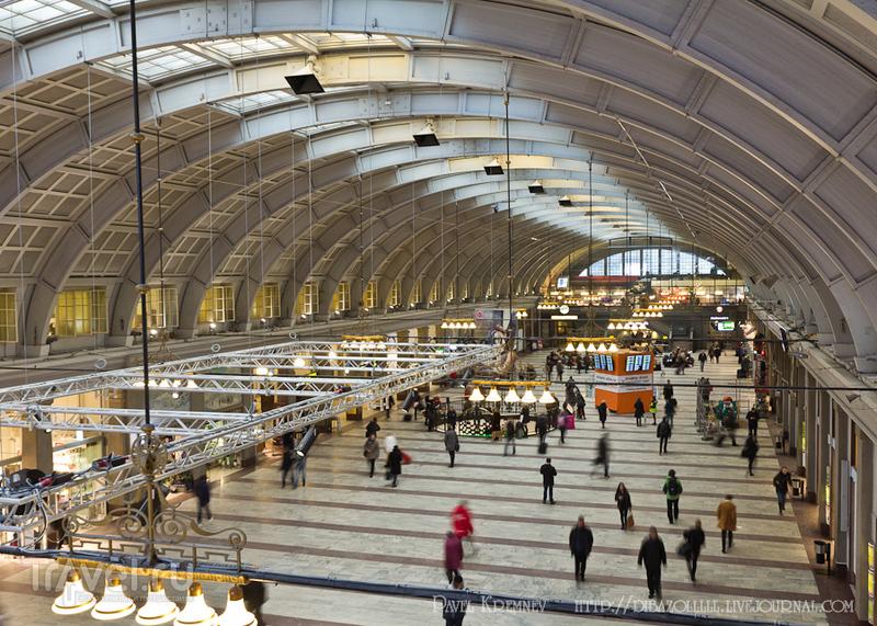Железнодорожный вокзал Стокгольма / Фото из Швеции