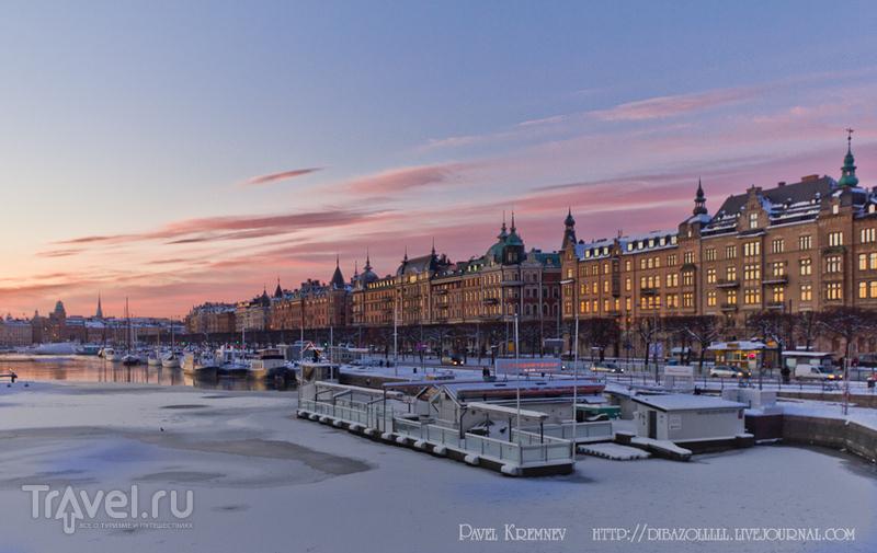 Зимний Стокгольм / Фото из Швеции