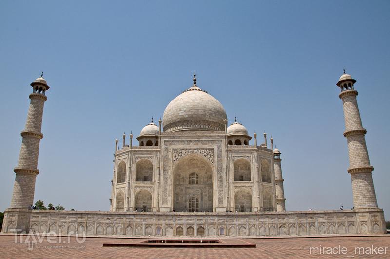 Тадж-Махал, Агра / Фото из Индии