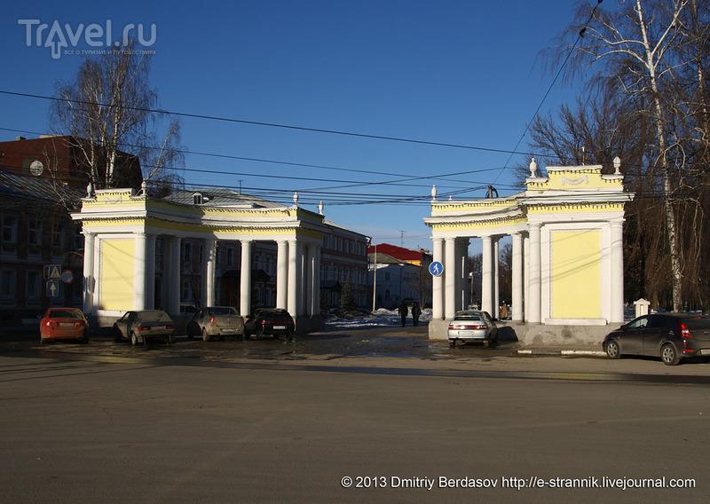 Триумфальная арка в Рязани / Фото из России