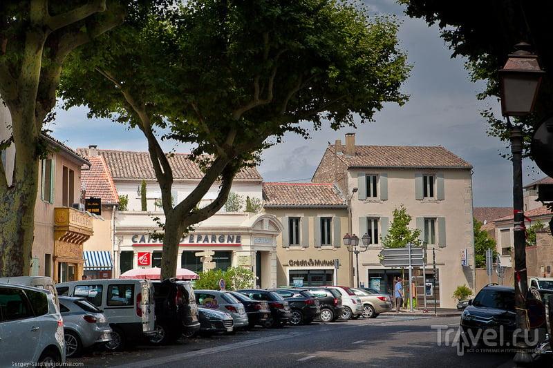 В городе Сен-Реми, Прованс / Фото из Франции