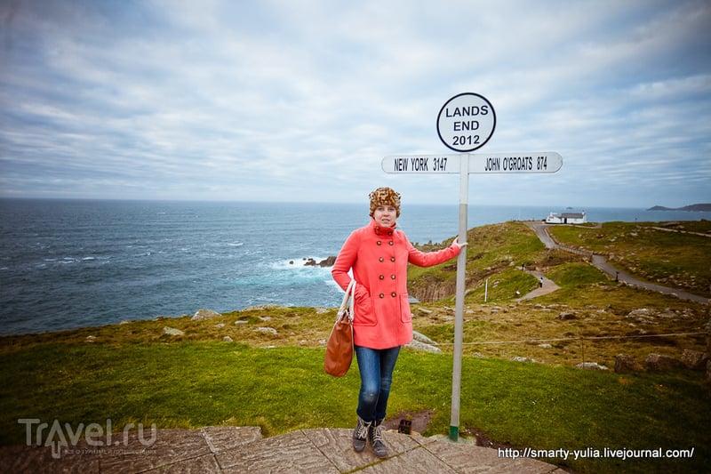 Англия, Корнуол: Mousehole, Land's End / Великобритания