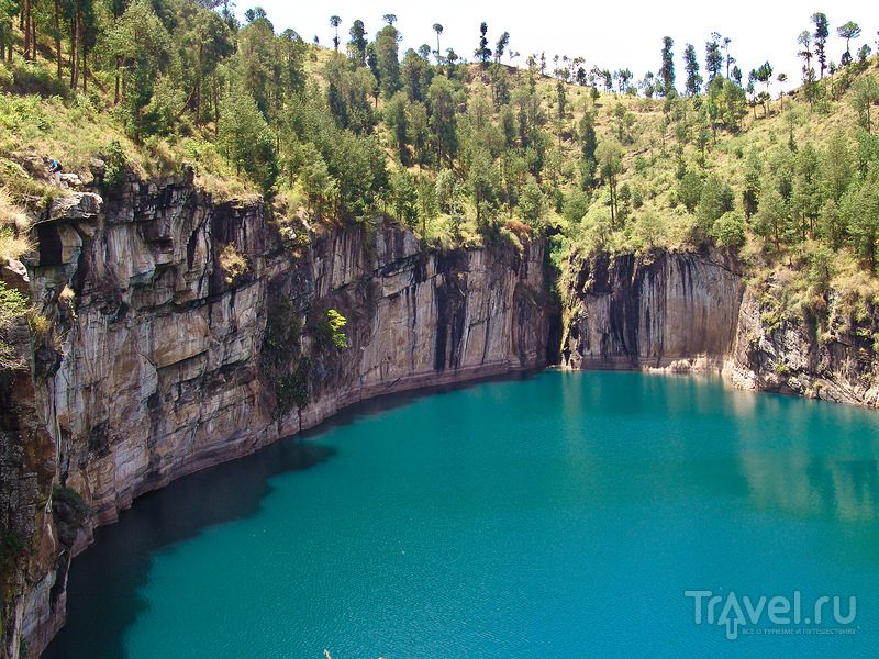 Озеро Тритрива, Мадагаскар / Фото с Мадагаскара