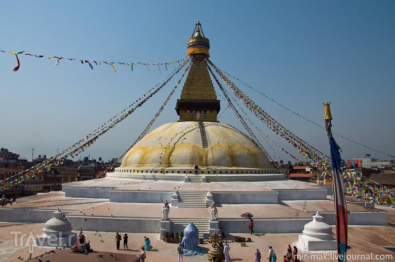 Ступа Боднатх в Катманду, Непал / Фото из Непала
