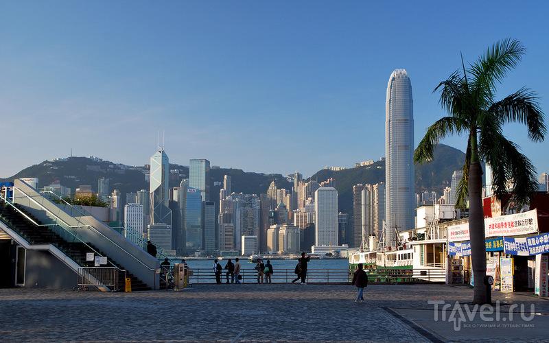 Паромный терминал в Гонконге / Фото из Макао