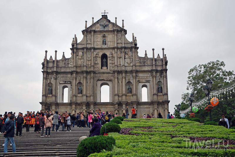 Руины собора Сан-Паулу, Макао / Фото из Макао