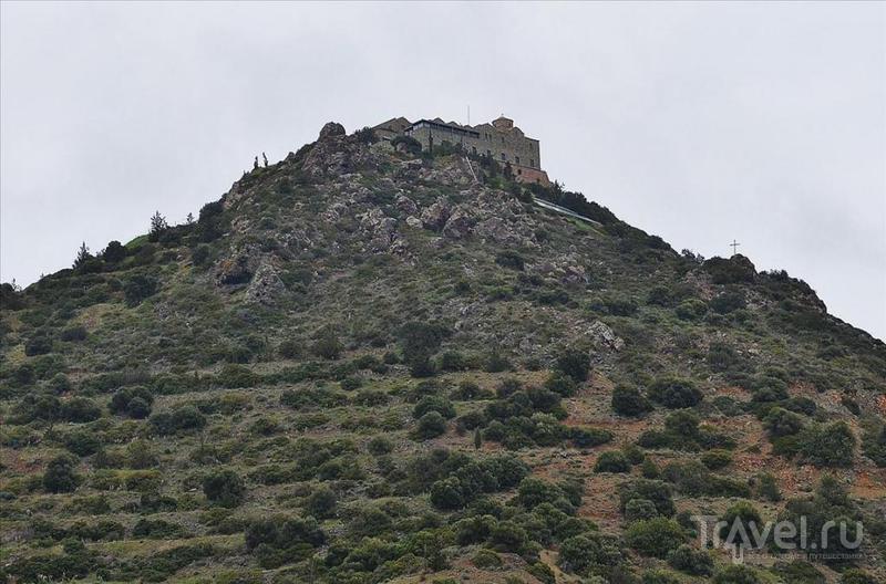 Монастырь Ставровуни, Кипр / Фото с Кипра