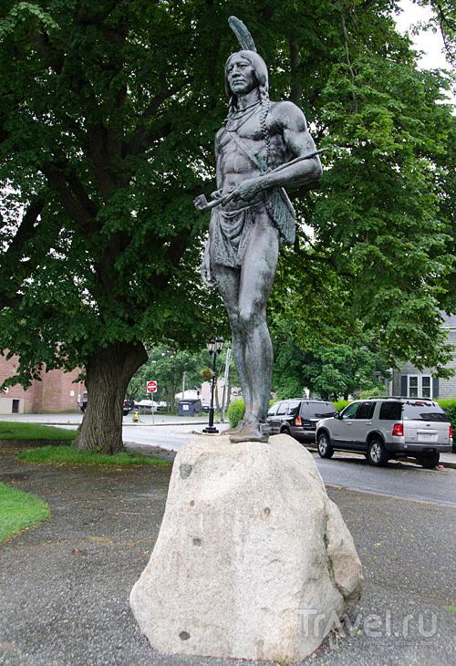 Памятник Большому Вождю в Плимуте, США / Фото из США