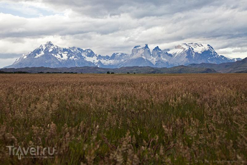 Горы, льды и цветные озёра Торрес дель Пайне / Фото из Чили