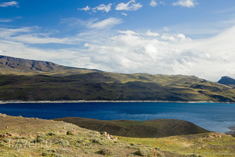 Озеро Сармиенто, Чили / Фото из Чили