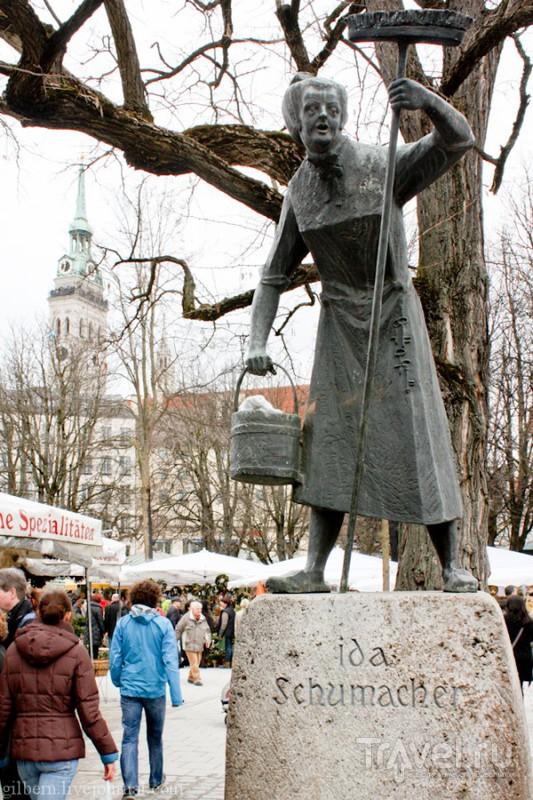 Скульптура Иды Шумахер, Мюнхен / Фото из Германии