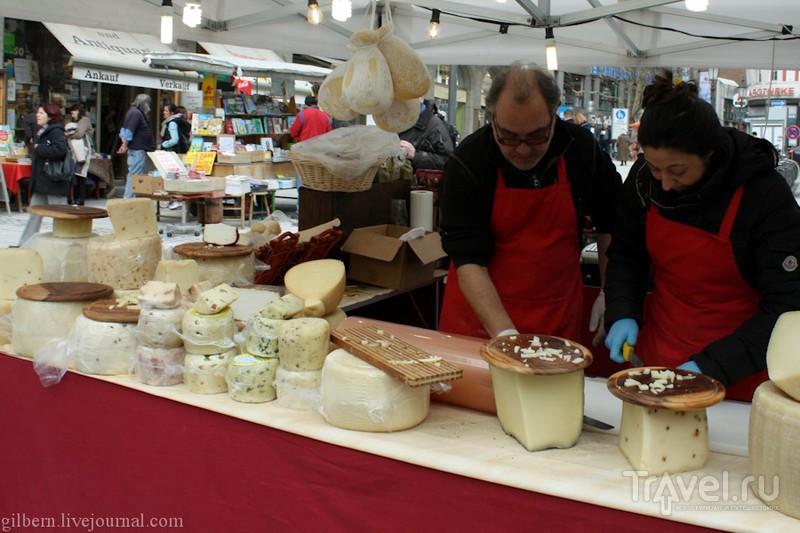 Мюнхен: рынок Viktualienmarkt / Фото из Германии
