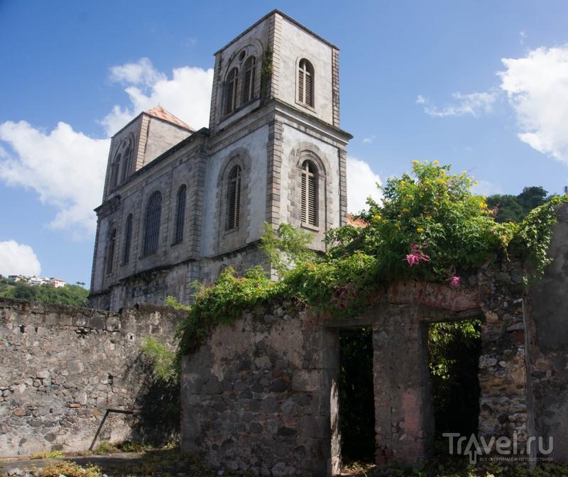 В городе Сент-Пьер, Мартиника / Фото с Мартиники
