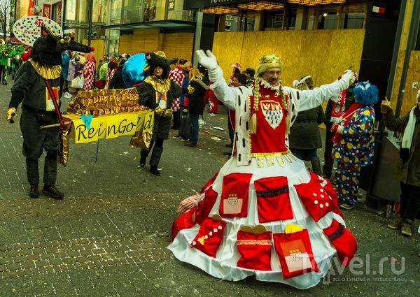 Карнавал в Кёльне. Школьный день / Германия