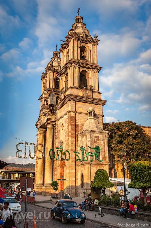 Церковь Святого Франциска и Азиса (San Francisco de Asis Church) в Вайе-де-Браво, Мексика / Фото из Мексики