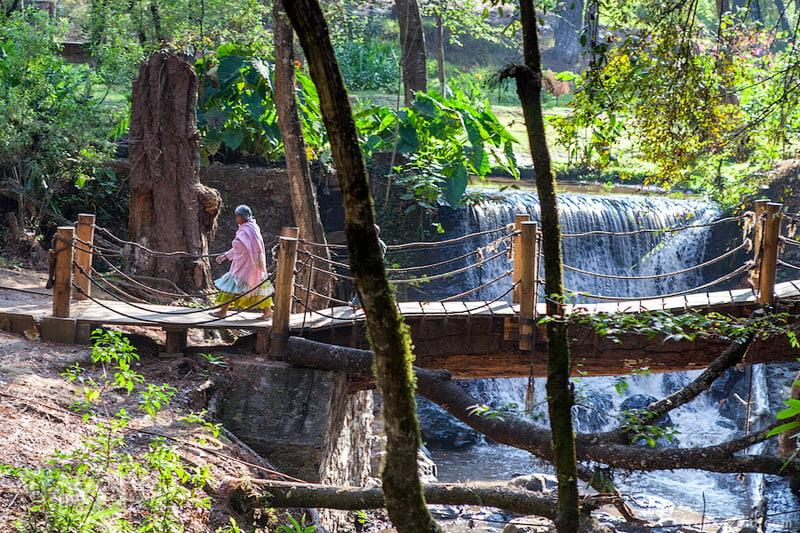 Водопад Velo de Novia, Мексика / Фото из Мексики