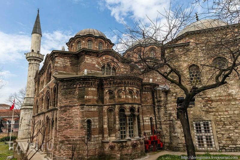 Византийские мозаики Фетхие-джамми / Фото из Турции