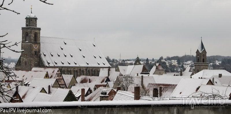 В городе Динкельсбюль, Германия / Фото из Германии