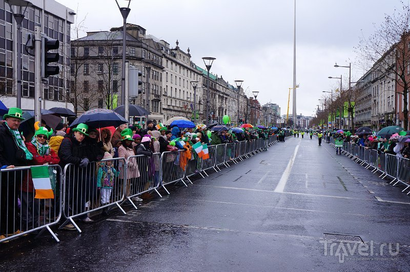 О'Коннелл-стрит, Дублин / Фото из Ирландии