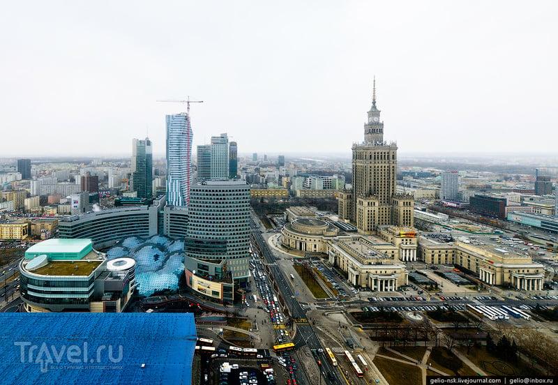 Улица Emilii Plater, Варшава / Фото из Польши