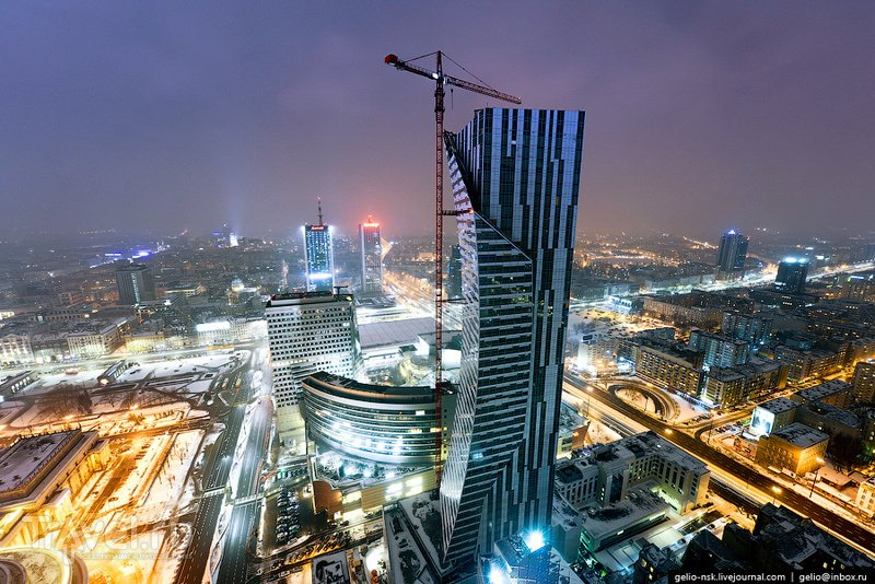 Небоскреб Złota 44, Варшава / Фото из Польши
