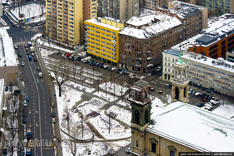 Гжибовская площадь / Фото из Польши