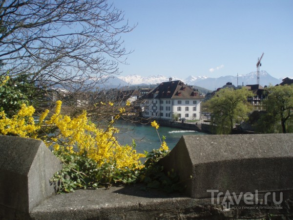 Швейцария весной / Швейцария