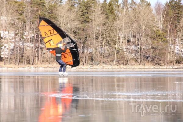 Wild Ice Skating / Швеция