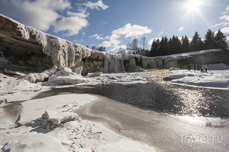 Водопад Ягала (Jägala), Эстония / Фото из Эстонии