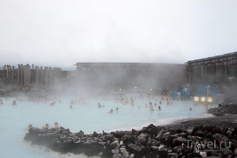 Некиношная Голубая лагуна / Фото из Исландии