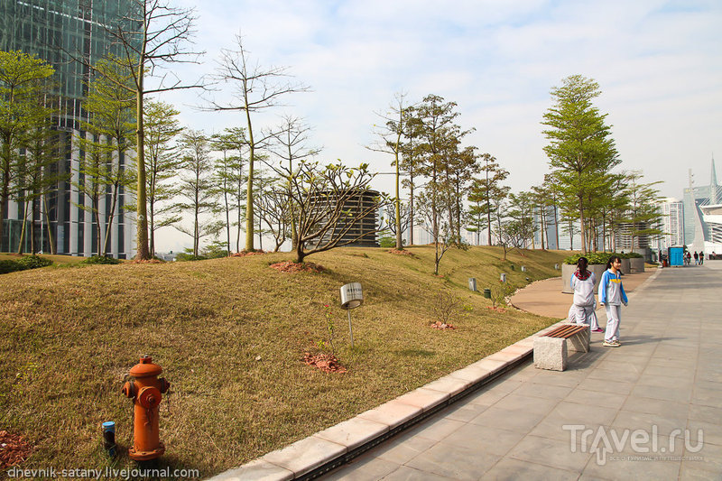 Китай, Гуанчжоу: башня Кантон / Фото из Китая