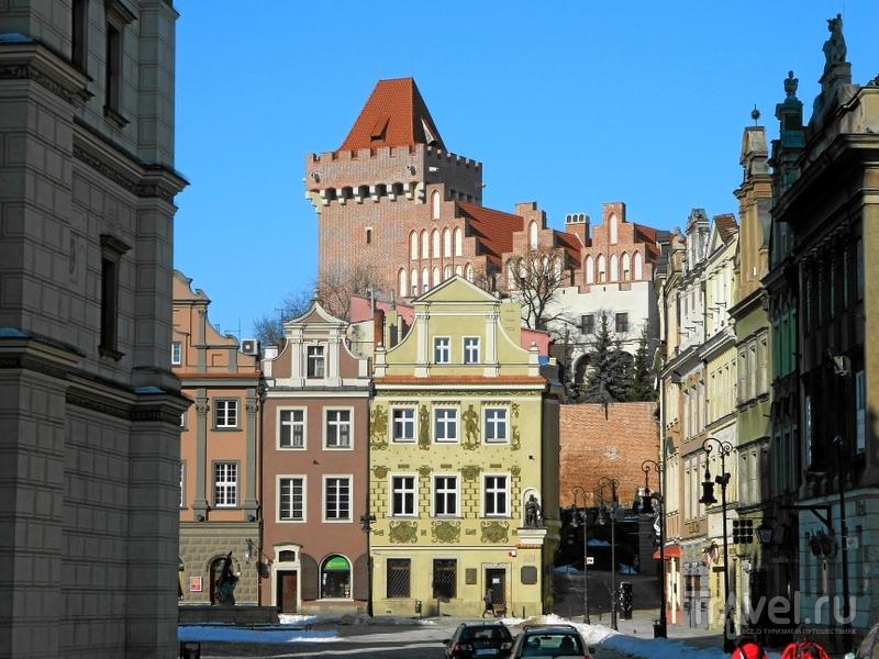 Вид на Королевский замок в Познани, Польша / Фото из Польши